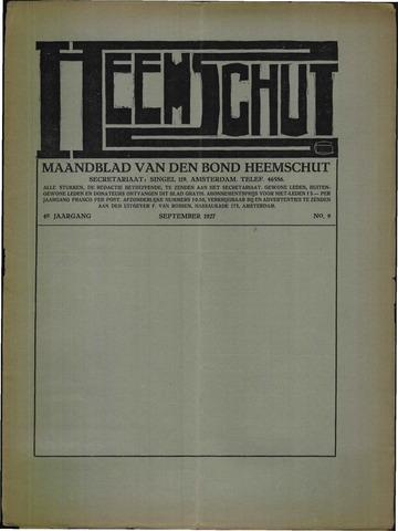 Heemschut - Tijdschrift 1924-2018 1927-09-01