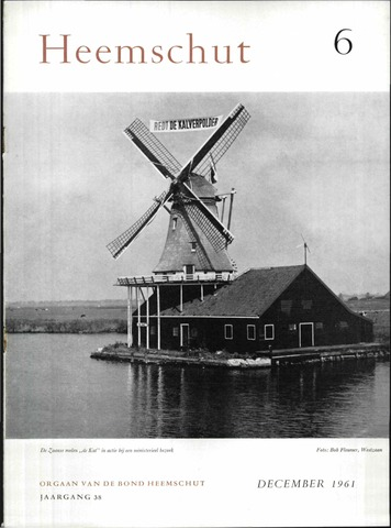 Heemschut - Tijdschrift 1924-2018 1961-12-01