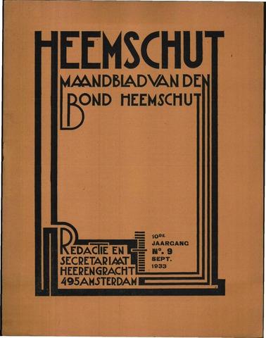 Heemschut - Tijdschrift 1924-2018 1933-09-01