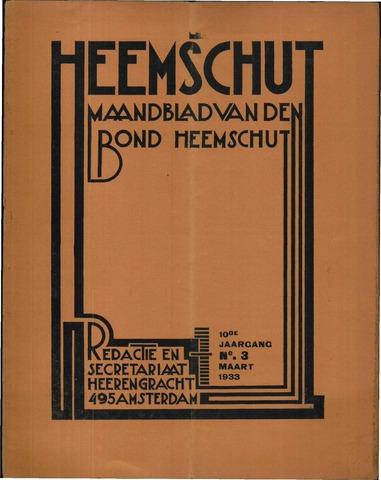 Heemschut - Tijdschrift 1924-2018 1933-03-01