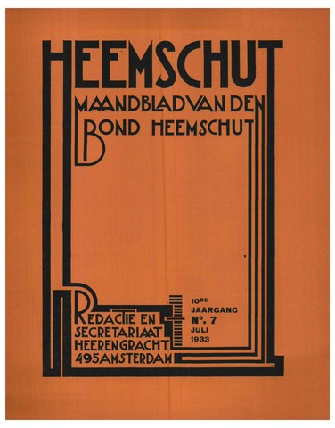 Heemschut - Tijdschrift 1924-2018 1933-07-01