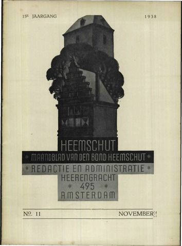 Heemschut - Tijdschrift 1924-2018 1938-11-01