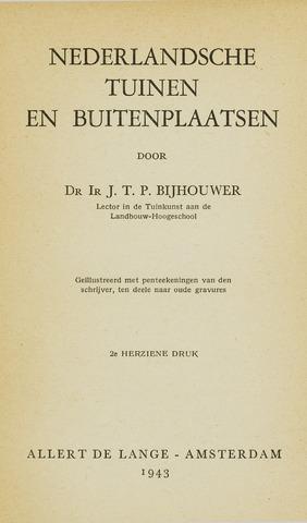 Heemschutserie - Boekje 1941-1954 1943-01-08
