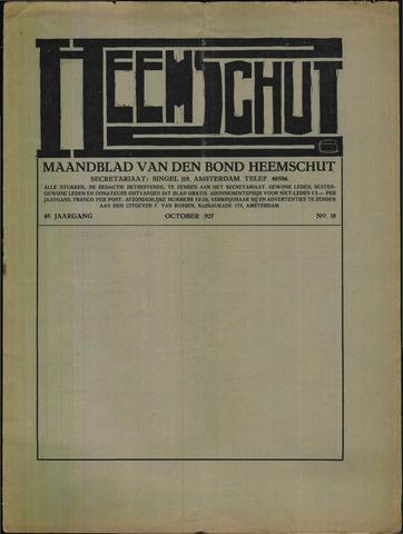 Heemschut - Tijdschrift 1924-2018 1927-10-01