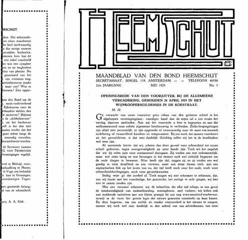 Heemschut - Tijdschrift 1924-2018 1925-05-05