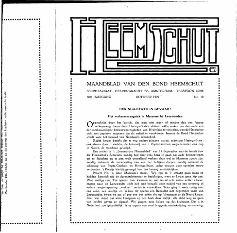 Heemschut - Tijdschrift 1924-2018 1929-10-01