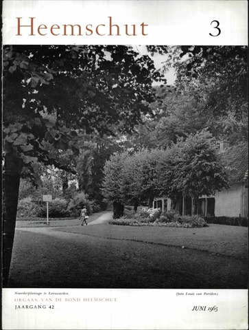 Heemschut - Tijdschrift 1924-2018 1965-06-01