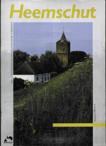 Heemschut - Tijdschrift 1924-2018 1992-08-01