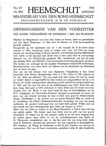 Heemschut - Tijdschrift 1924-2018 1938-06-01