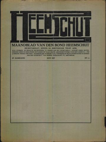 Heemschut - Tijdschrift 1924-2018 1927-06-01