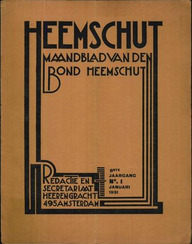 Heemschut - Tijdschrift 1924-2018 1931-01-01