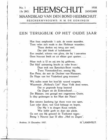 Heemschut - Tijdschrift 1924-2018 1938-01-01