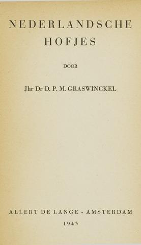 Heemschutserie - Boekje 1941-1954 1943-10-03