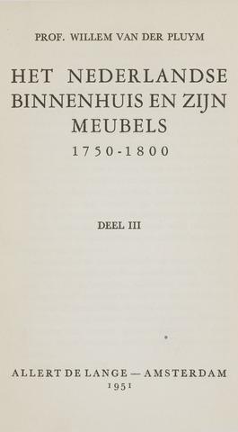Heemschutserie - Boekje 1941-1954 1951-01-01