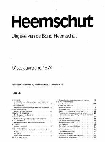 Index Heemschut 1947-2002 1974-12-01