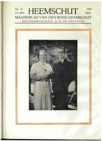 Heemschut - Tijdschrift 1924-2018 1936-12-01