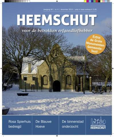 Heemschut - Tijdschrift 1924-2018 2013-12-04