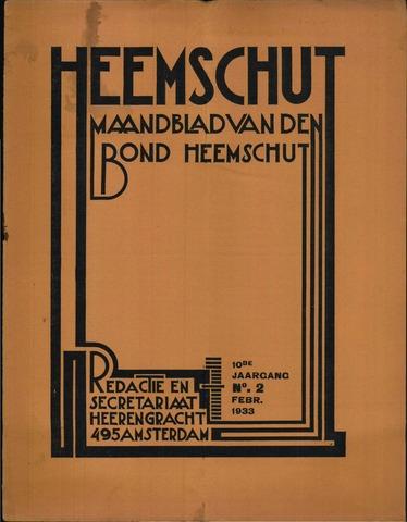 Heemschut - Tijdschrift 1924-2018 1933-02-01