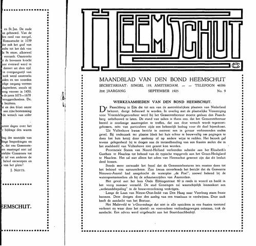 Heemschut - Tijdschrift 1924-2018 1925-09-09