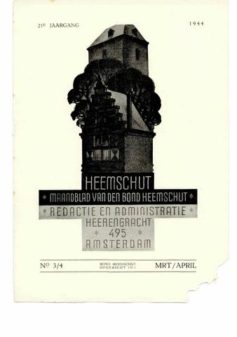 Heemschut - Tijdschrift 1924-2018 1944-04-01