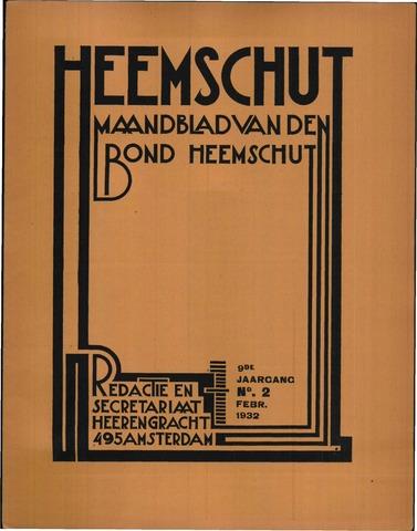Heemschut - Tijdschrift 1924-2018 1932-02-01