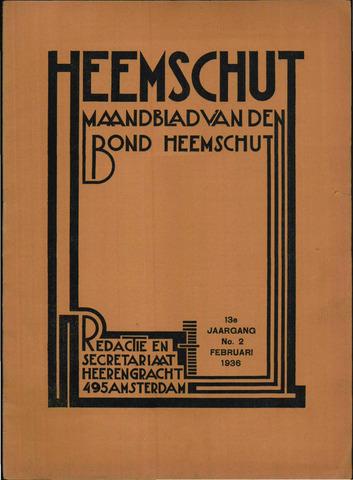 Heemschut - Tijdschrift 1924-2018 1936-02-01