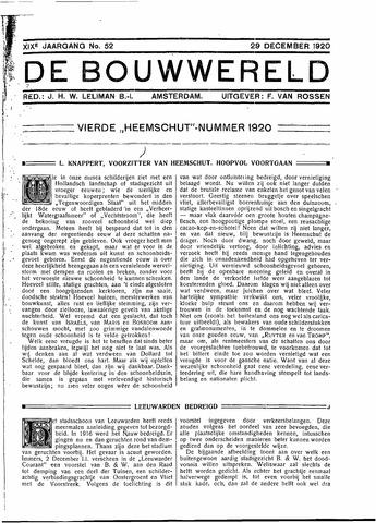 Bouwwereld 1918-1923 1920-12-29