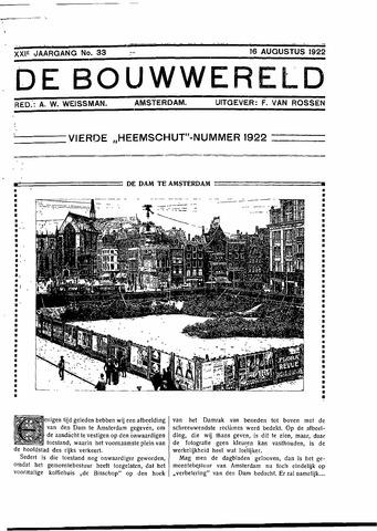 Bouwwereld 1918-1923 1922-08-16