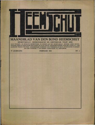 Heemschut - Tijdschrift 1924-2018 1930-02-01