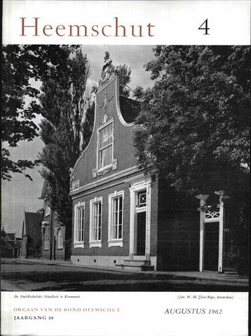 Heemschut - Tijdschrift 1924-2018 1962-08-01