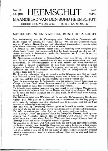 Heemschut - Tijdschrift 1924-2018 1937-11-01