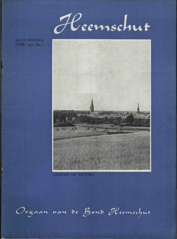 Heemschut - Tijdschrift 1924-2018 1952