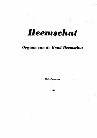 Index Heemschut 1947-2002 1951-12-01