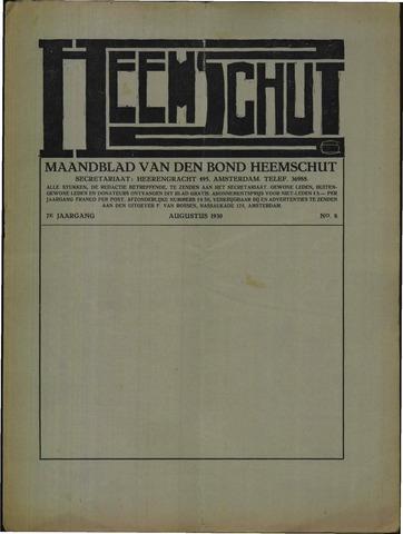 Heemschut - Tijdschrift 1924-2018 1930-08-01