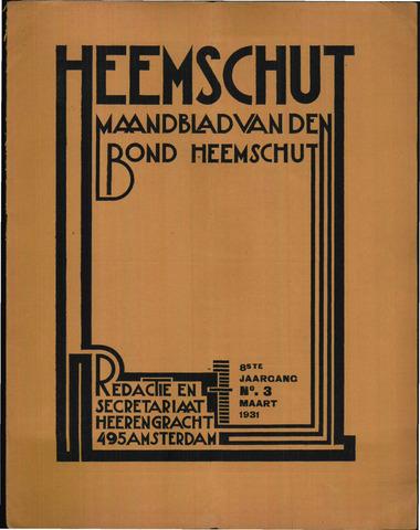 Heemschut - Tijdschrift 1924-2018 1931-03-01