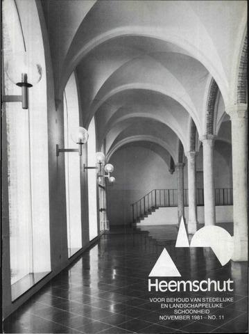 Heemschut - Tijdschrift 1924-2018 1981-11-01