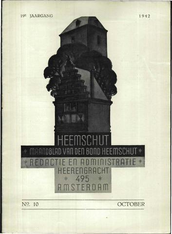 Heemschut - Tijdschrift 1924-2018 1942-10-01