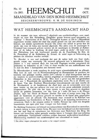 Heemschut - Tijdschrift 1924-2018 1936-10-01