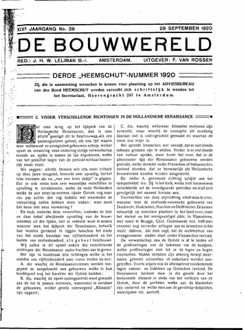 Bouwwereld 1918-1923 1920-09-29