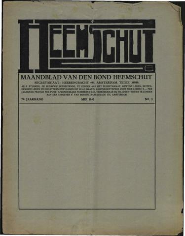 Heemschut - Tijdschrift 1924-2018 1930-05-05