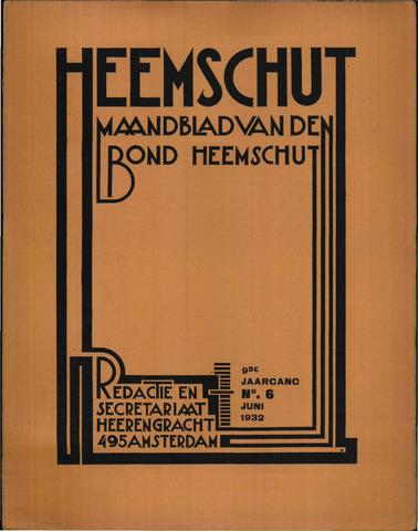 Heemschut - Tijdschrift 1924-2018 1932-06-01