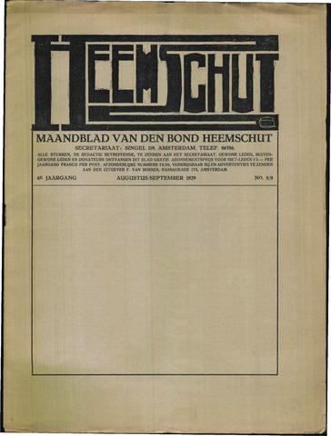 Heemschut - Tijdschrift 1924-2018 1929-08-01