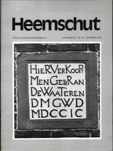 Heemschut - Tijdschrift 1924-2018 1976-12-01