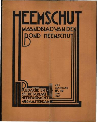 Heemschut - Tijdschrift 1924-2018 1933-12-01
