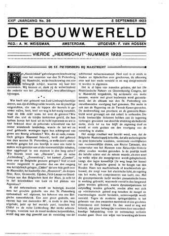 Bouwwereld 1918-1923 1923-09-25