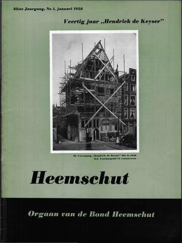 Heemschut - Tijdschrift 1924-2018 1958