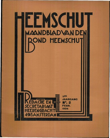 Heemschut - Tijdschrift 1924-2018 1934-02-01