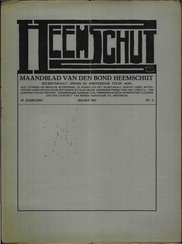 Heemschut - Tijdschrift 1924-2018 1927-03-01
