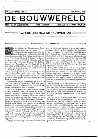Bouwwereld 1918-1923 1921-04-17