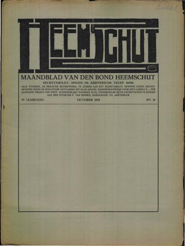 Heemschut - Tijdschrift 1924-2018 1928-10-01